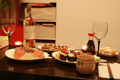 Праздничный ужин для любимого