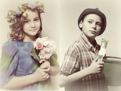 Детей из неблагополучных семей с целью арт-терапии сделали фотомоделями