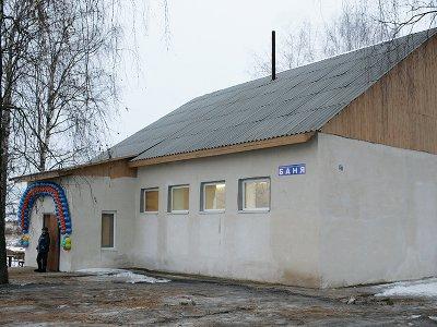 В Ярцевском районе вместо сгоревшей восемь лет назад бани построили новую