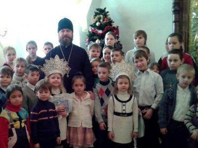 В Смоленске поздравили с Рождеством украинских беженцев