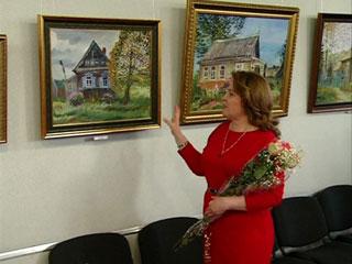 В Смоленске открылась персональная выставка Инны Гончаровой