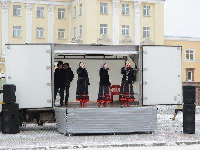 На главном катке Смоленска по выходным будут давать представления