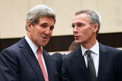 США и НАТО потребовали от России прекратить поддержку ополченцев