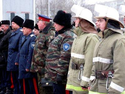 В Смоленске появятся пожарные-казаки