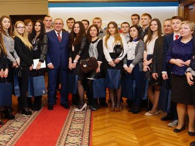 Смоленские студенты отметили Татьянин день в Государственной Думе