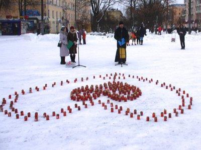 В память об убитых вифлиемских младенцах в городе провели акцию против абортов