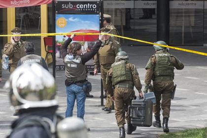 Два взрыва произошли в метрополитене Сантьяго