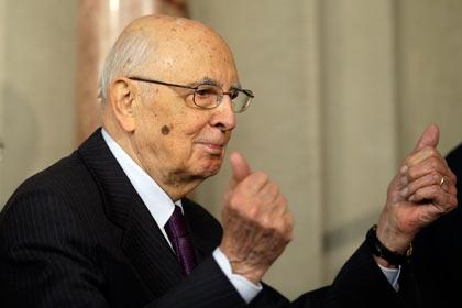 Президент Италии ушел в отставку