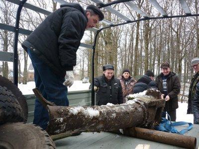 Найденную под Смоленском немецкую пушку определили в музей на Куликовом поле