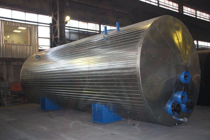 Монтаж вертикальных резервуаров и хранение битума