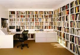 Кабинет и библиотека в едином стиле