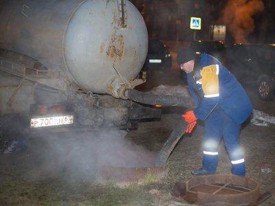 Место порыва теплосетей в Заднепровье обнаружили и заварили
