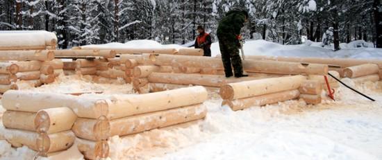 Особенности строительства в зимних условиях