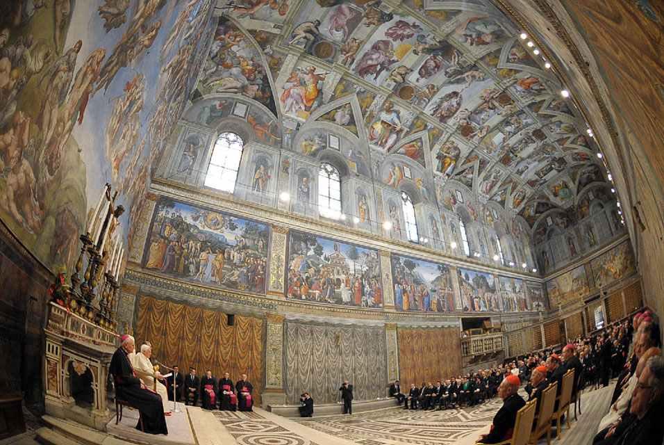 Сикстинская капелла – сокровищница Ватикана