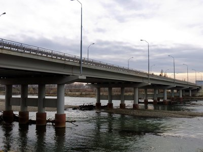 Судьба четвертого моста через Днепр зависит от Путина