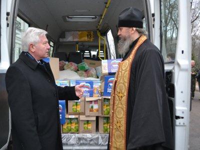 Смоляне снова отправили гуманитарную помощь на Донбасс
