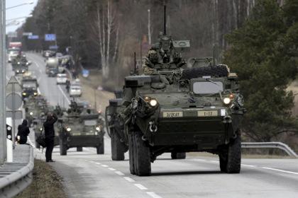 США начали военные учения в Румынии и Болгарии