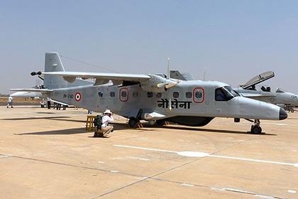 Самолет упал в море у побережья Индии