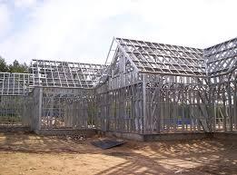 Строительство гаража на основе каркаса