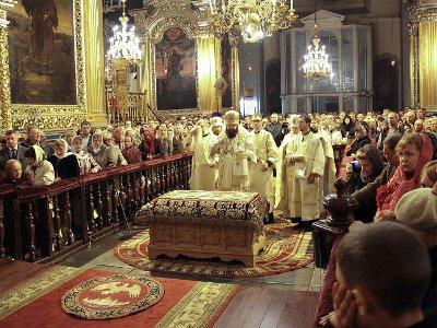 Около 44 тысяч жителей региона посетили храмы в Пасхальную ночь