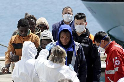 В Средиземном море утонули 40 мигрантов