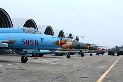 Во Вьетнаме столкнулись два истребителя-бомбардировщика Су-22