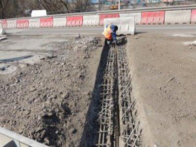 Плохая погода повлияет на сроки ремонта Крестовоздвиженского моста