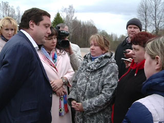 Обеспечение жильем погорельцев из Ново-Никольского – на контроле у губернатора Смоленской области