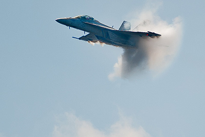 Американский истребитель упал в Персидский залив