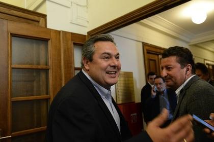 В Афинах заявили о давлении США в связи с антироссийскими санкциями