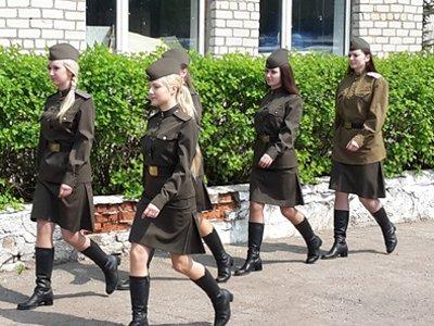 Финалистки конкурса «Мисс полиция» снялись в фильме о войне