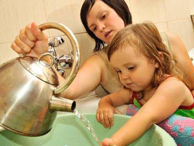 Детсад на Ново-Ленинградской почти на полгода остался без горячей воды