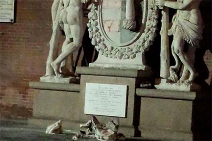 В Италии любители селфи сломали статую Геркулеса