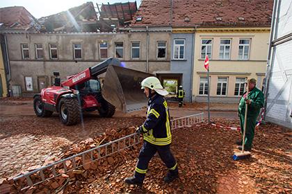 На севере Германии произошел разрушительный ураган