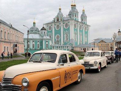 Смоленск принял участников автопробега на «Победах»