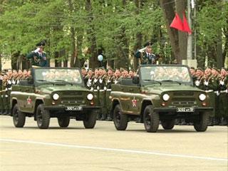 В Смоленске прошла генеральная репетиция праздничного парада