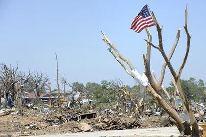 В Техасе десятки человек госпитализированы из-за торнадо
