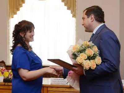 Ярцевчанка Кристина Рудак стала лучшей воспитательницей области
