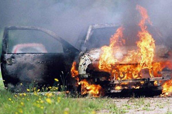 Двое смолян в подпитии угнали и сожгли чужое авто