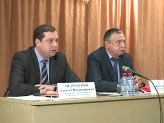 Исполняющий обязанности губернатора Смоленской области Алексей Островский побывал с рабочим визитом в Холм-Жирковском районе