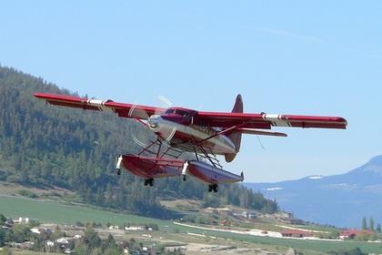 На Аляске разбился туристический самолет