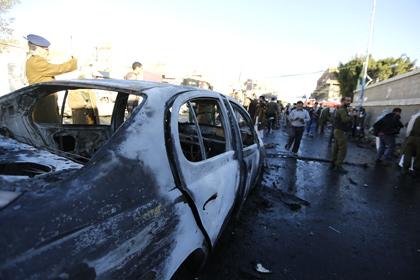 В штаб-квартире хоуситов в столице Йемена произошел взрыв