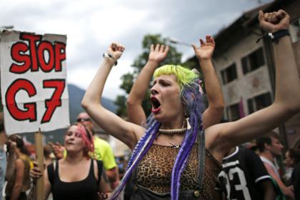 В Баварии в преддверии саммита G7 произошли столкновения