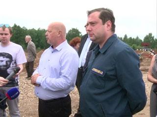 Временно исполняющий обязанности губернатора Смоленской области посетил с рабочим визитом Сафоновский район