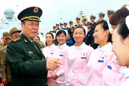 В Китае бывшего военачальника исключили из партии за коррупцию