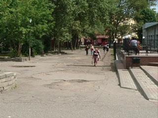 Сквер на площади Победы необходимо отремонтировать