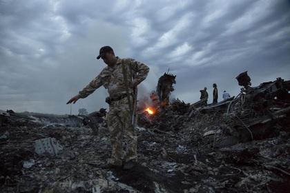СМИ обнародовали видео ополчения с места падения «Боинга» на Украине