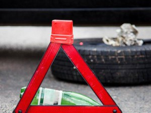 Пьяный смолянин попал в аварию на угнанной машине