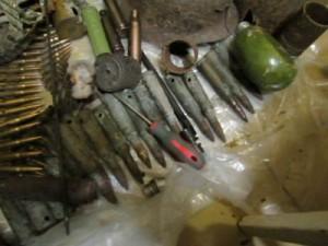 Полиция нашла у «черных копателей» арсенал оружия
