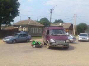 В двух авариях с мотоциклами пострадали пять человек